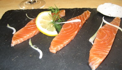 Les Petits Saints - Sashimi saumon
