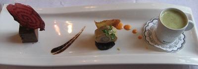 Le Restaurant du Pont - Entrée Foie Gras
