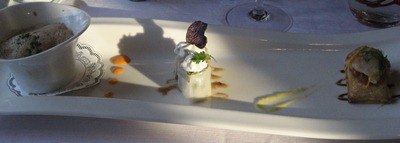 Le Restaurant du Pont - Entrée Homard