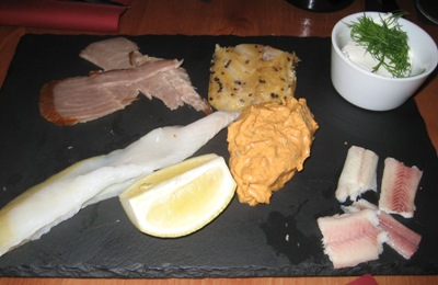Jeroboam - Planche de poissons fumés