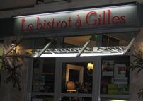 Le bistrot à Gilles
